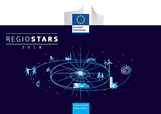 Plakat o konkursie Regiostars - edycja 2018